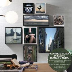 Tablou MOMA FRAME 0707 Alb - Negru