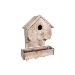 Casă pentru Păsări + Alimentator Natural