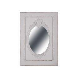 Oglindă Antichizată Alb