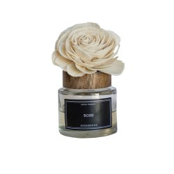 Difuzor Parfum + Floare ROSE