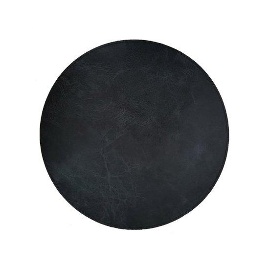 Napron THE RAW PLACEMAT Rotund Negru