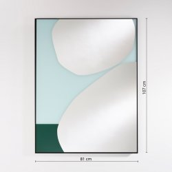 Oglindă MIKA Albastru