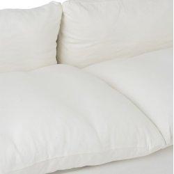 Canapea 2/3 Persoane Mesteacăn/Textil Alb