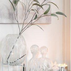 Consolă Oțel Inoxidabil + Sticlă Argintiu