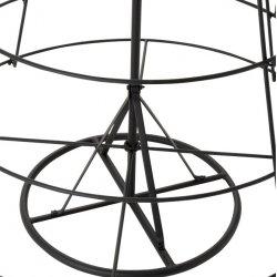 Pom Decorativ 8 nivele Metal Negru