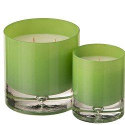 Lumânare parfumată Sticlă Verde Deschis Mare