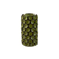Vaza ceramica MALOU verde mediu