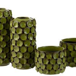 Vaza ceramica MALOU verde mare