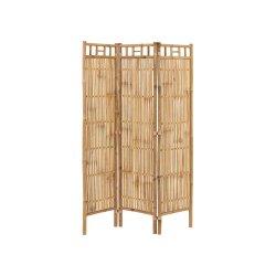 Separator Cameră 3 Panouri Bambus Natural