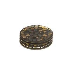 Suport pahar rotund Mozaic Sticlă