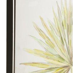 Tablou Plante + Vaze Albastru - Alb - Verde