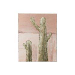 Tablou Cactus Verde - Roz