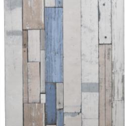 Tapet  lemn palet alb-albastru
