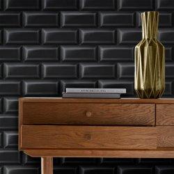 Tapet Faianță Vintage Negru