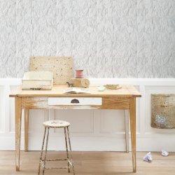 Tapet alb din hârtie sfărâmată