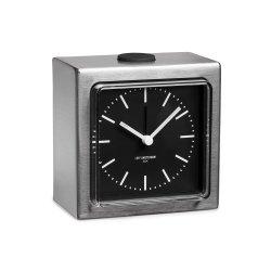 Ceas Alarmă BLOCK Oțel - Negru