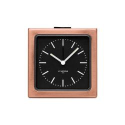 Ceas Alarmă BLOCK Cupru - Negru