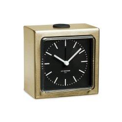Ceas Alarmă BLOCK Alamă - Negru