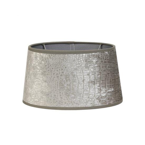 Abajur Elipsă CHELSEA Argintiu