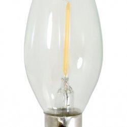 Bec LED Lumânare 2W Clar E14