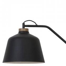 Lumină Podea BANU Lemn Negru