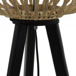 Lumină Podea ALIFIA Bambus + Înveliș Natural