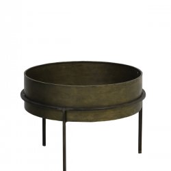Măsuță Laterală TENCE Bronz Antichizat