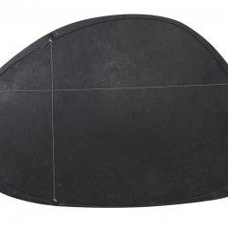Oglindă SONORA Negru Mat