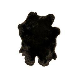 Covor Piele Iepure Negru
