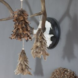 Ornament Suspendabil Pene de Fazan Gulerat