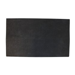 Preș Ușă Coir Cauciuc FENCE Negru - Natural