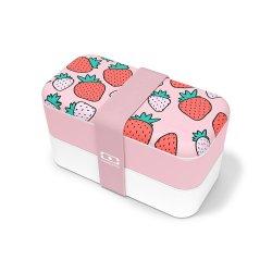 Caserolă Mâncare BENTO MB ORIGINAL Căpșuni Roz