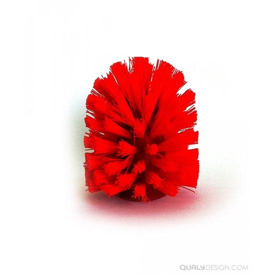 Perie Toaletă CHERRY Roșu