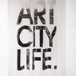 Perdea Duș ART CITY LIFE Alb