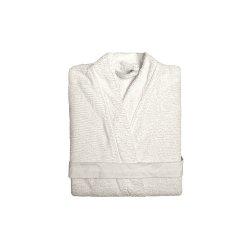 Halat Kimono RIBBON Alb