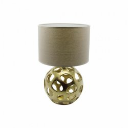 ZIVA bronze Ceramic lamp