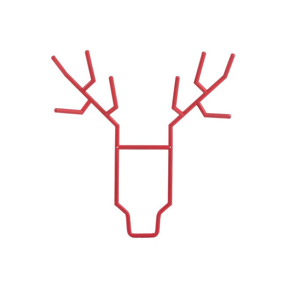 Cuier perete Moose Metal Rosu Mare koomood 2021