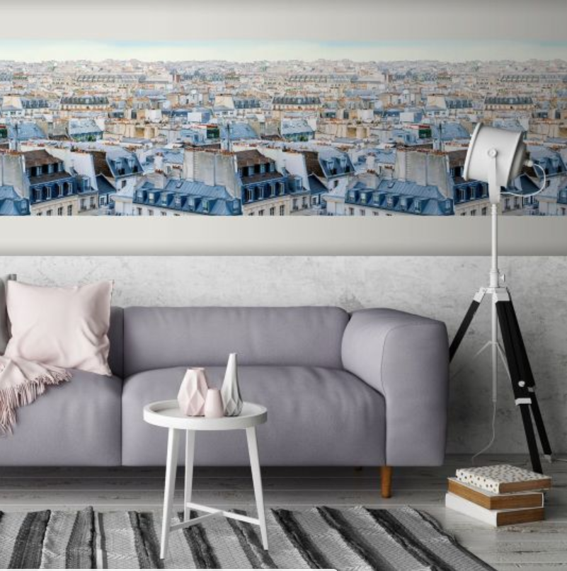 Tapet Paris acoperis koomood 2021