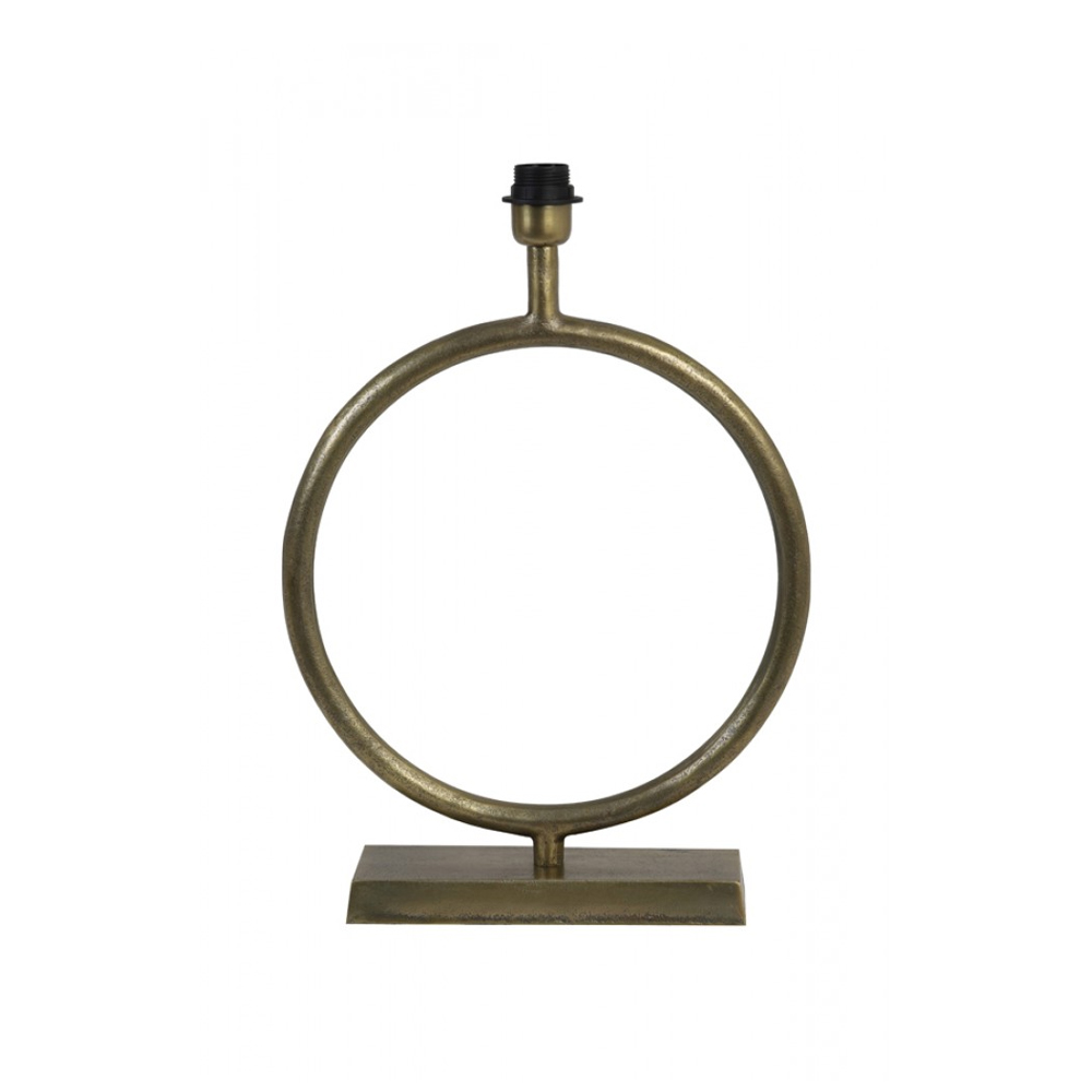 Baza lampa LIVA Bronz antic brut - mare Light & Living