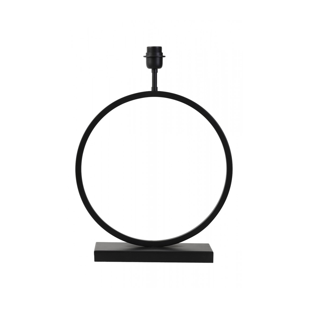 Baza lampa LIVA Negru mat - mare Light & Living
