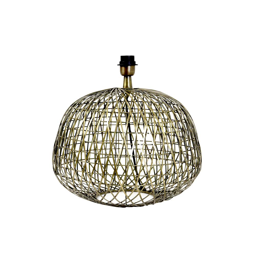 Baza lampa ALWINA Bronz antic Light & Living