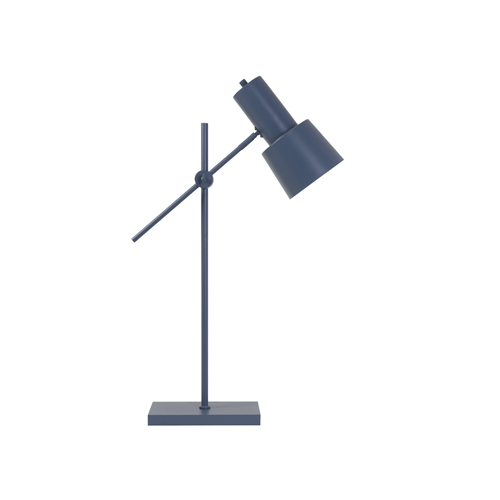 Lampa birou PRESTON Albastru mat Light & Living