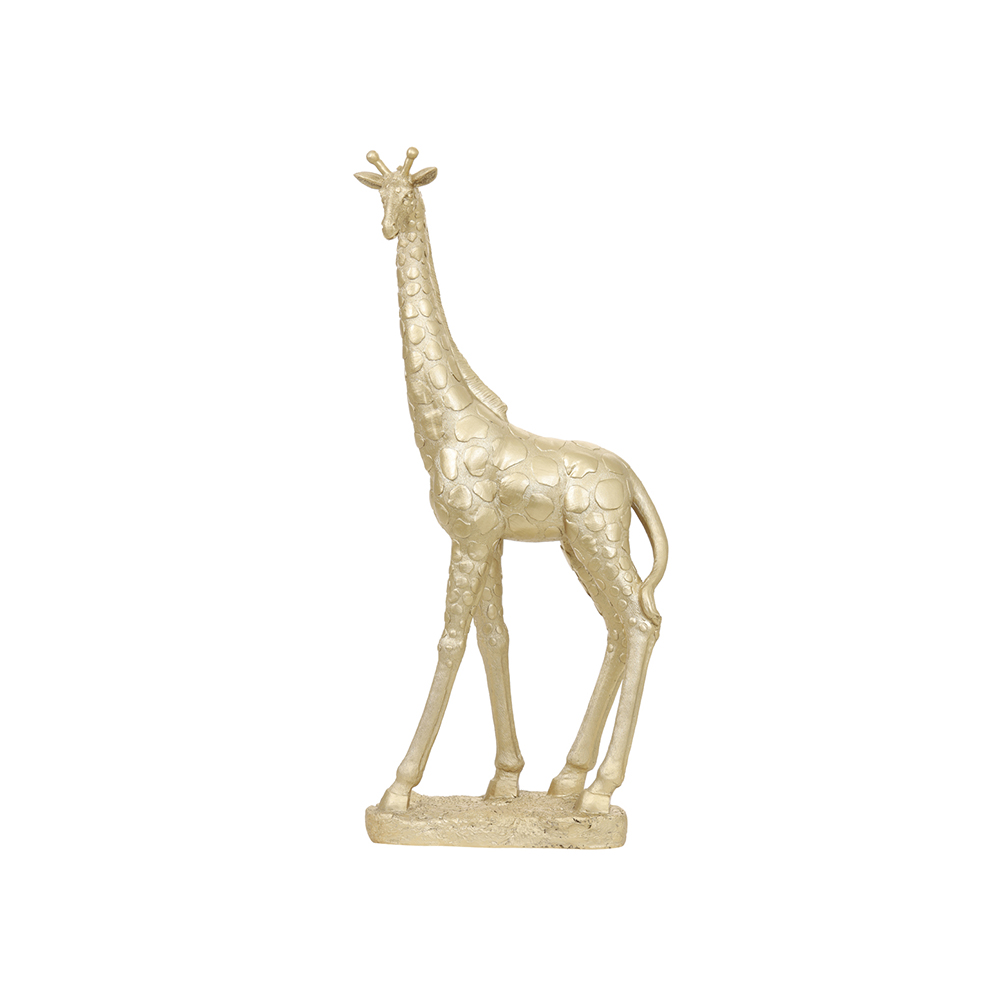 Ornament GIRAFFE Auriu deschis