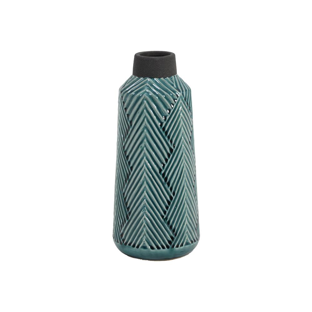 Vaza deco ACASI Verde inchis + Gri koomood 2021
