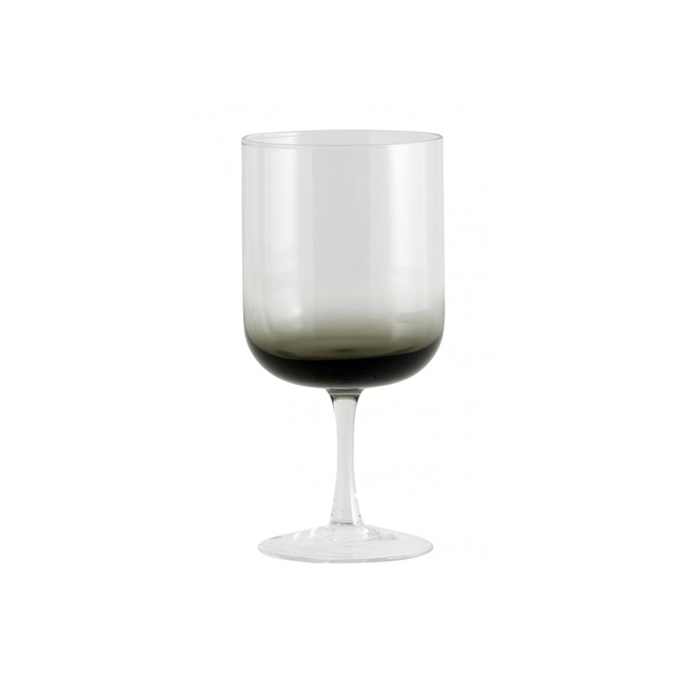 Pahar vin rosu - JOG Transparent/Negru Nordal