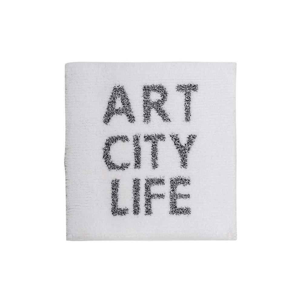 Covoras baie ART CITY LIFE Alb Sorema