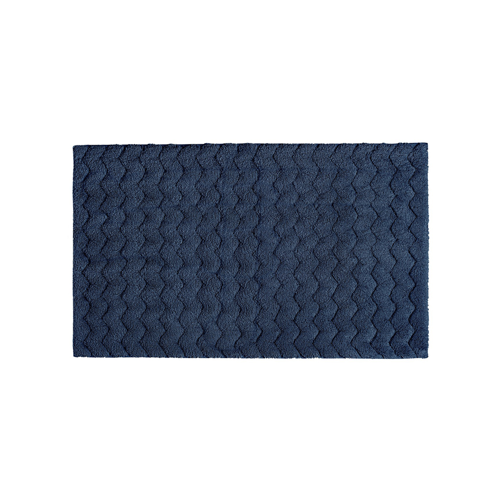 Covoras baie CHEVRON Bleumarin 60 x 100 Sorema