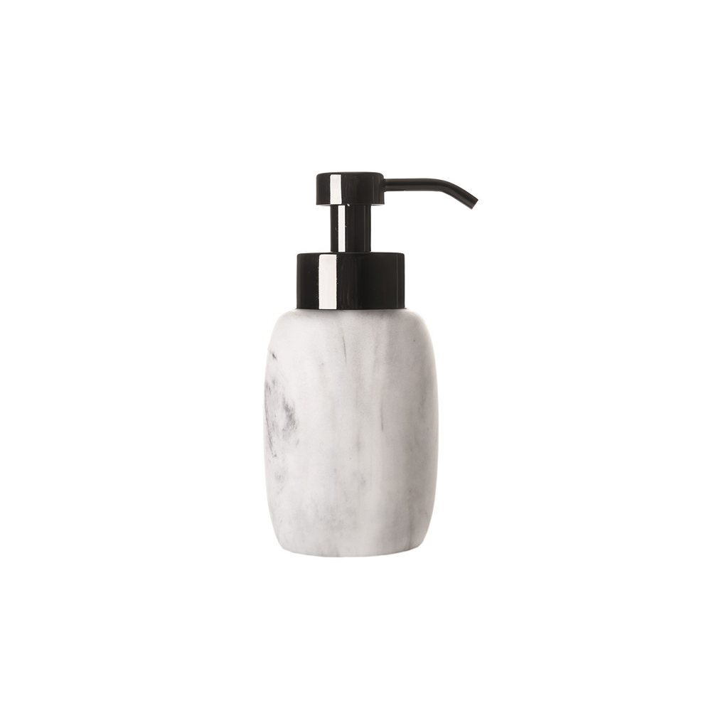 Dispenser sapun lichid MARBLE Argintiu Sorema