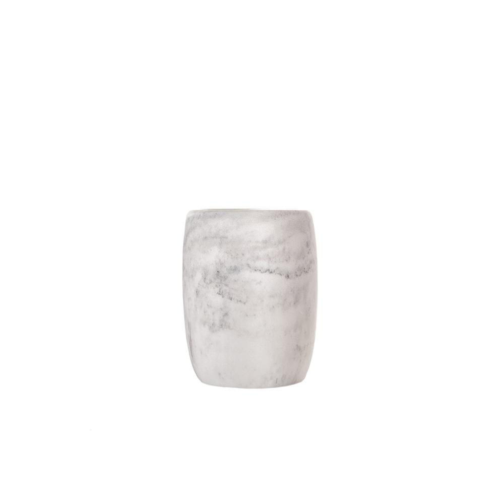 Pahar baie MARBLE Argintiu Sorema