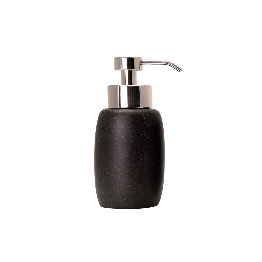 Dispenser sapun lichid ROCK Negru Sorema